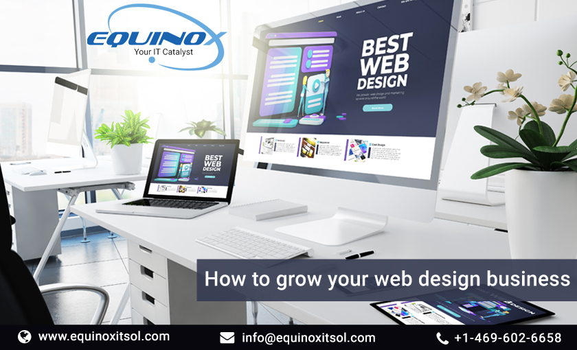 How to grow your web design business?